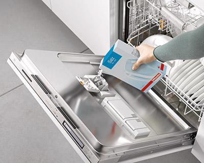 hóa chất tẩy rửa dành cho máy rửa bát gia đình