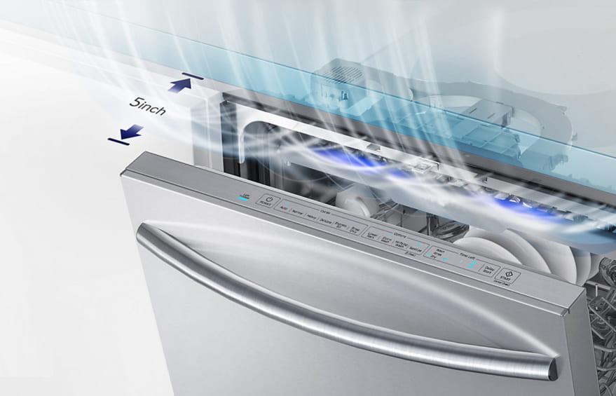 máy rửa bát có sấy