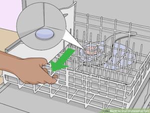 các bước và cách cho muối vào máy rửa bát