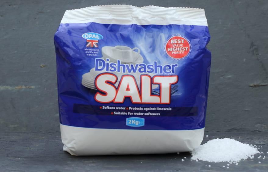 cách cho muối vào máy rửa bát