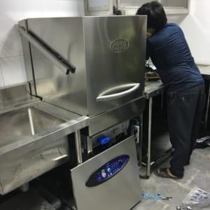 cách vệ sinh máy rửa bát