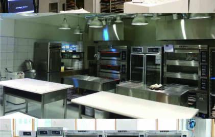 cách bố trí các thiết bị bếp