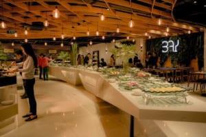 hệ thống thiết bị bếp công nghiệp cho nhà hàng buffet