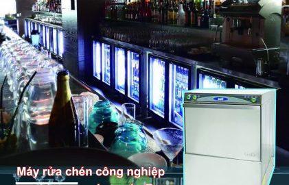 máy rửa chén công nghiệp cho quan bar