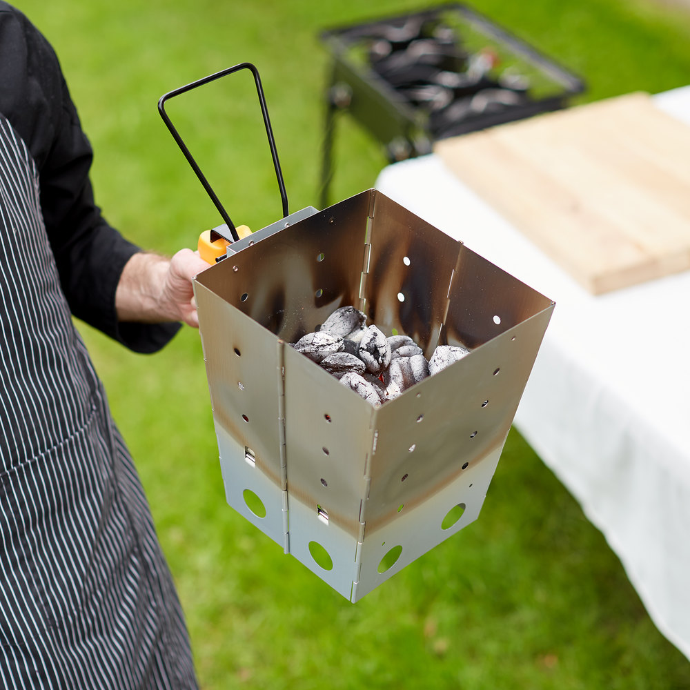 Nấu ăn bằng các loại than và gỗ