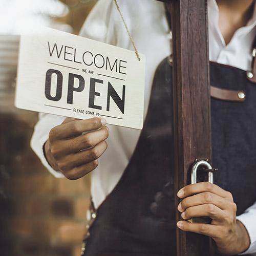 chi phí để nhà hàng có thể mở cửa