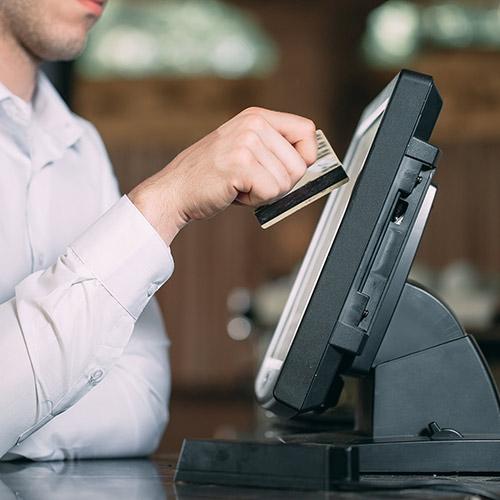 hệ thống thanh toán ở nhà hàng